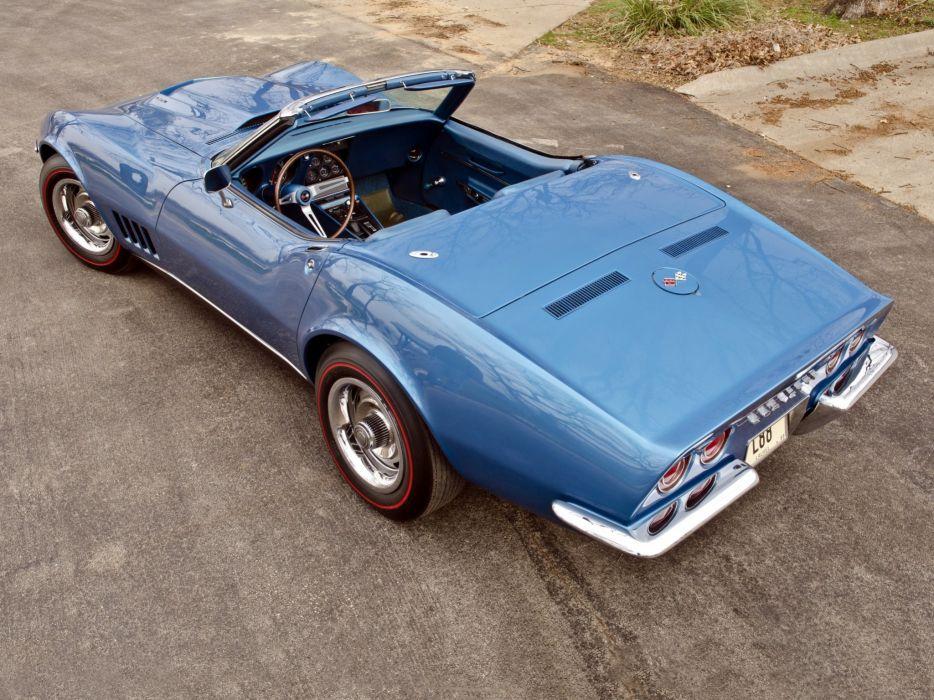 1969 Chevrolet Corvette Stingray L88 427 Convertible C-3 muscle supercar j3 wallpaper