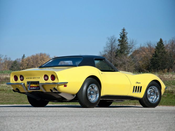 1969 Chevrolet Corvette Stingray L88 427 Convertible C-3 muscle supercar j wallpaper