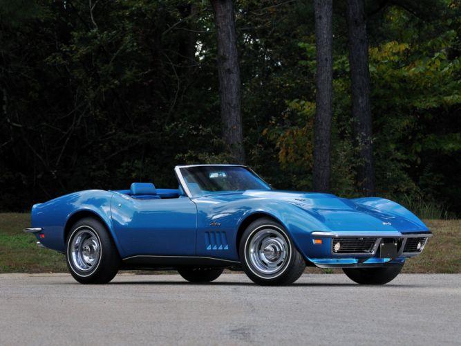 1969 Chevrolet Corvette Stingray L88 427 Convertible C-3 muscle supercar ju wallpaper