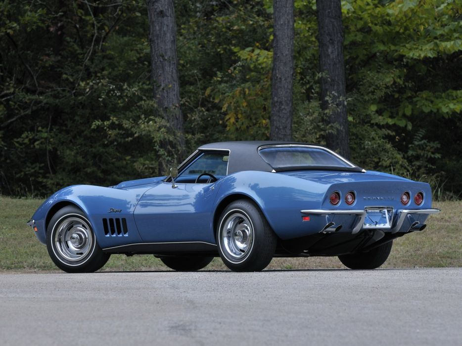 1969 Chevrolet Corvette Stingray L88 427 Convertible C-3 muscle supercar g wallpaper