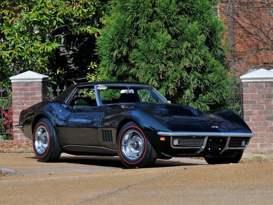 1969 Chevrolet Corvette Stingray L88 427 Convertible C-3 muscle supercar  rw wallpaper