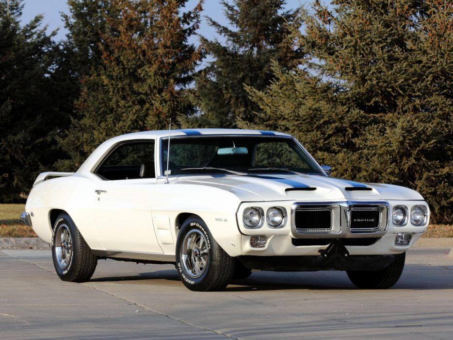 1969 Pontiac Firebird Trans-Am Coupe 2337 muscle classic  f wallpaper