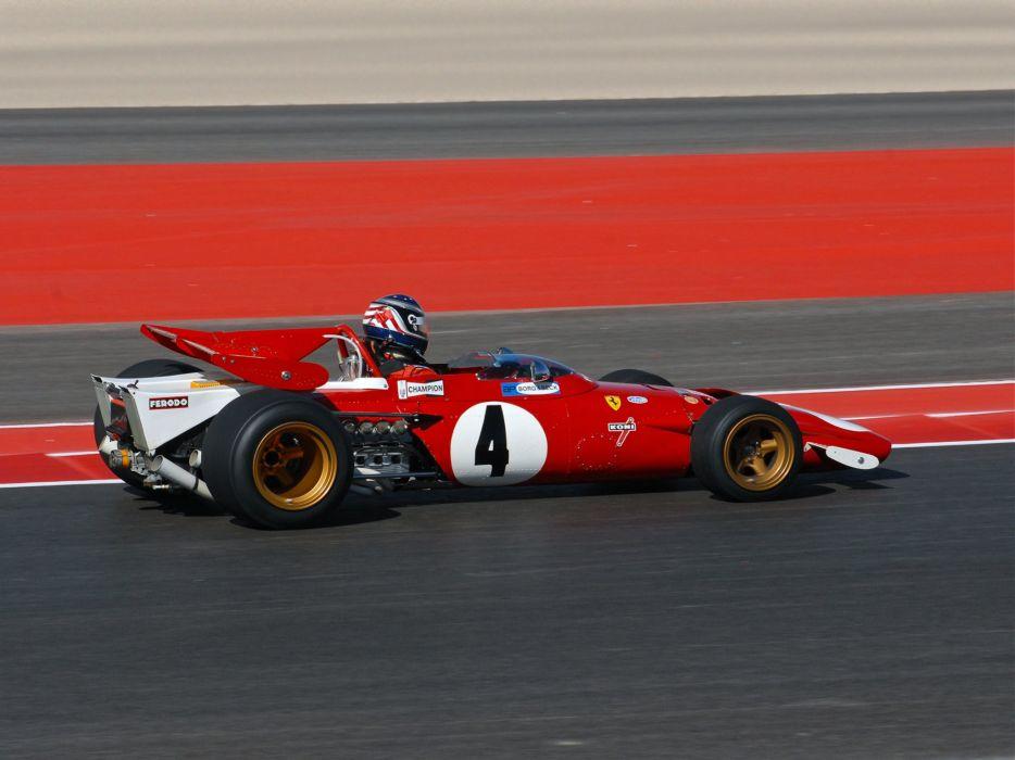 1971 Ferrari 312B formula f-1 race racing classic  f wallpaper