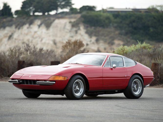 1971-73 Ferrari 365 GTB4 Daytona supercar g wallpaper
