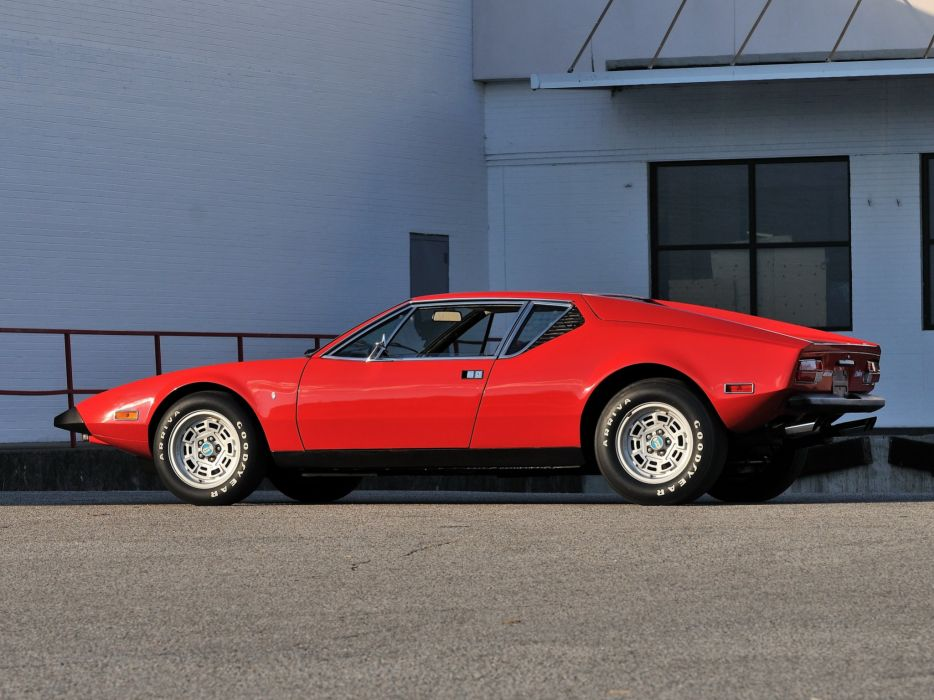 1972 De-Tomaso Pantera L supercar       g wallpaper