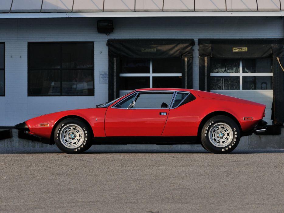 1972 De-Tomaso Pantera L supercar   g wallpaper