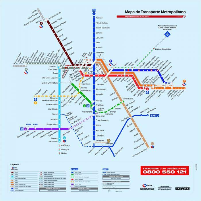 mapa metro sao paulo sp wallpaper