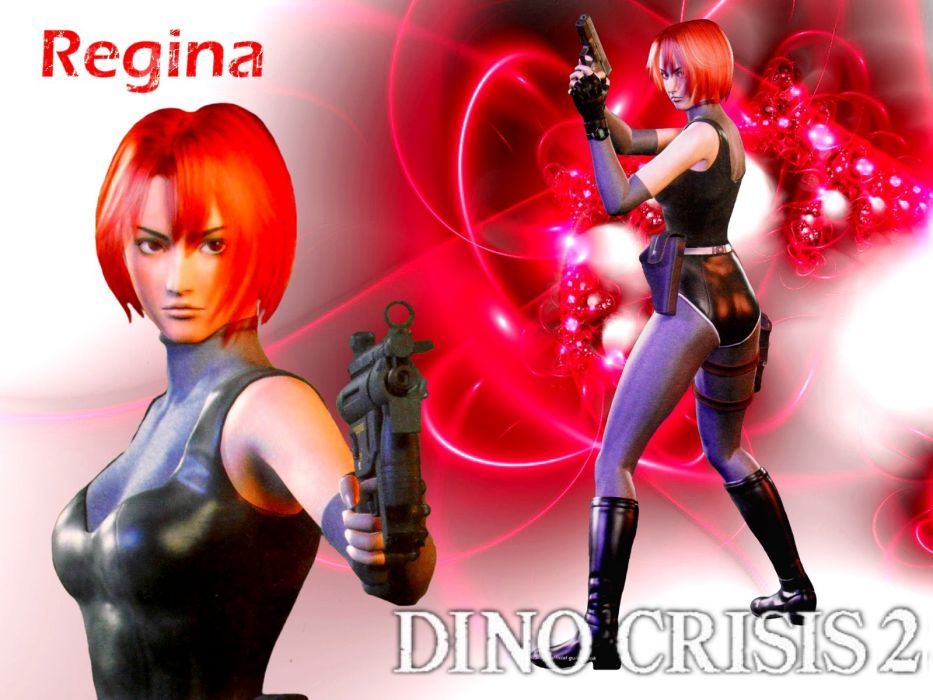 Dino Crisis 2 Regina by GameGirlsFanboy wallpaper