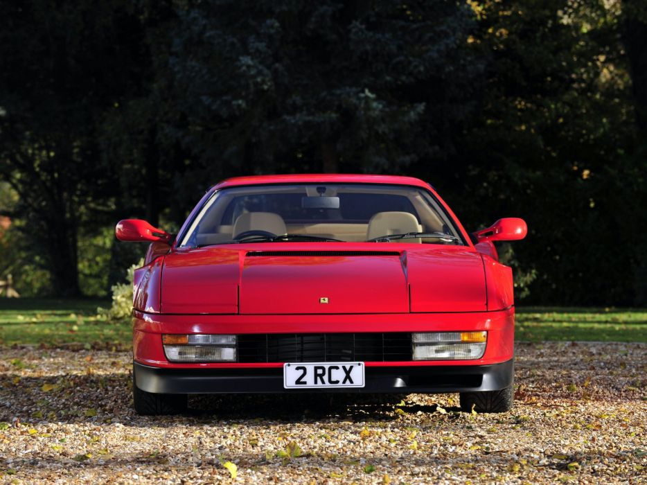 1986-92 Ferrari Testarossa UK-spec supercar  gd wallpaper