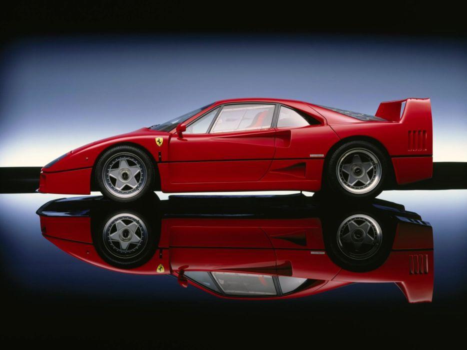 1987 Ferrari F40 supercar       g wallpaper