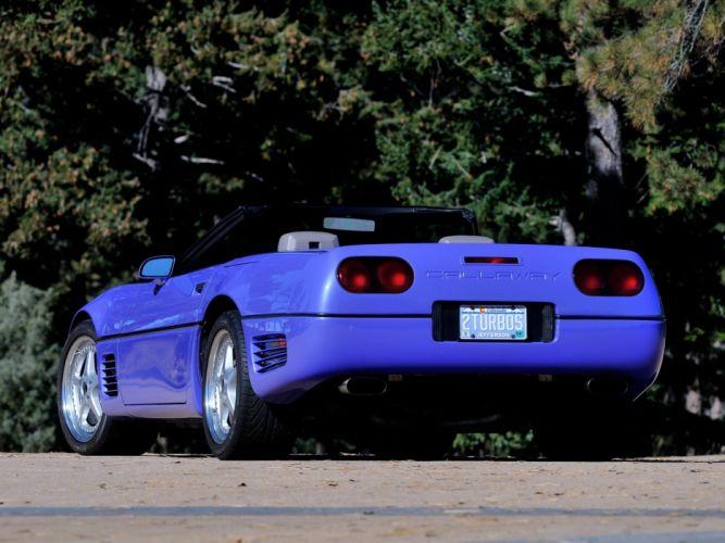 1991 Callaway C-4 Series 500 Twin Turbo Chevrolet Corvette Speedster B2K supercar muscle tuning d wallpaper