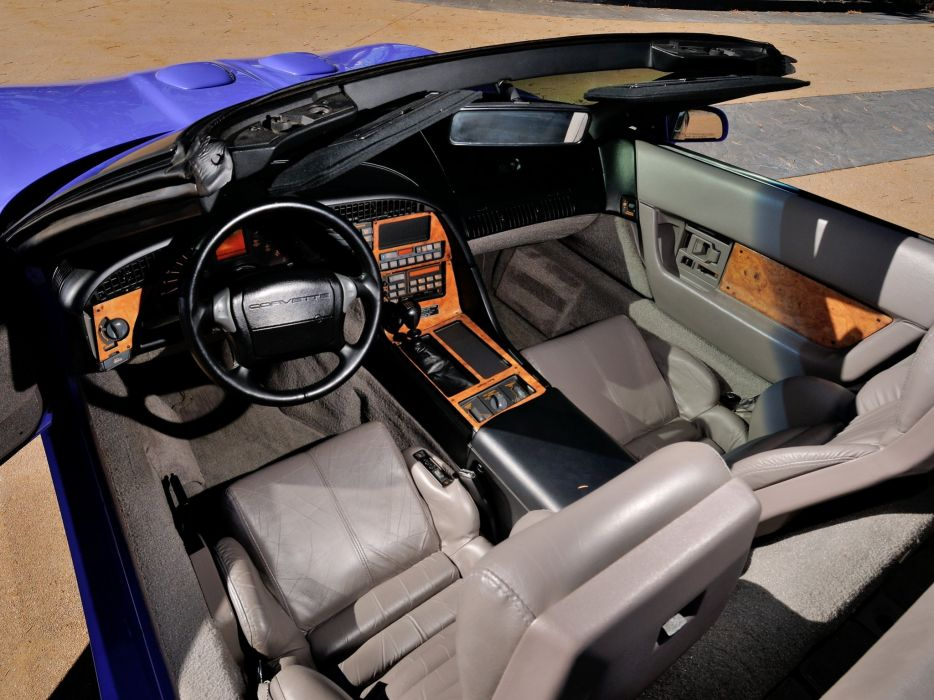 1991 Callaway C-4 Series 500 Twin Turbo Chevrolet Corvette Speedster B2K supercar muscle tuning interior  f wallpaper