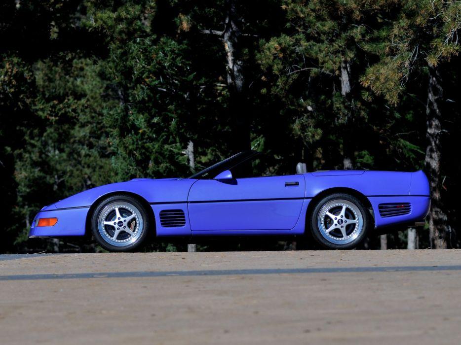 1991 Callaway C-4 Series 500 Twin Turbo Chevrolet Corvette Speedster B2K supercar muscle tuning s wallpaper