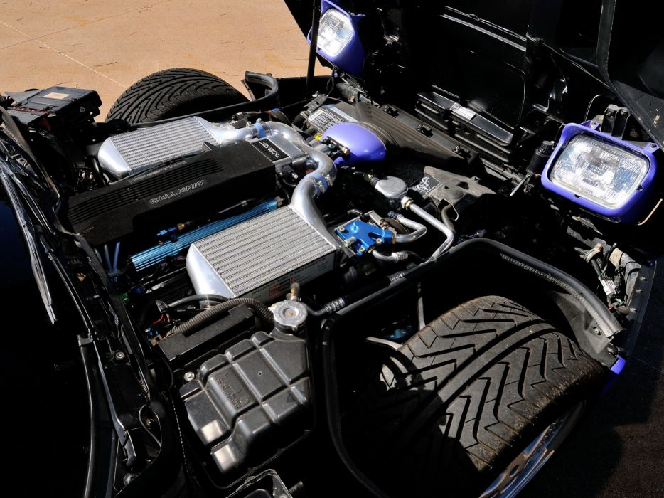 1991 Callaway C-4 Series 500 Twin Turbo Chevrolet Corvette Speedster B2K supercar muscle tuning engine    f wallpaper