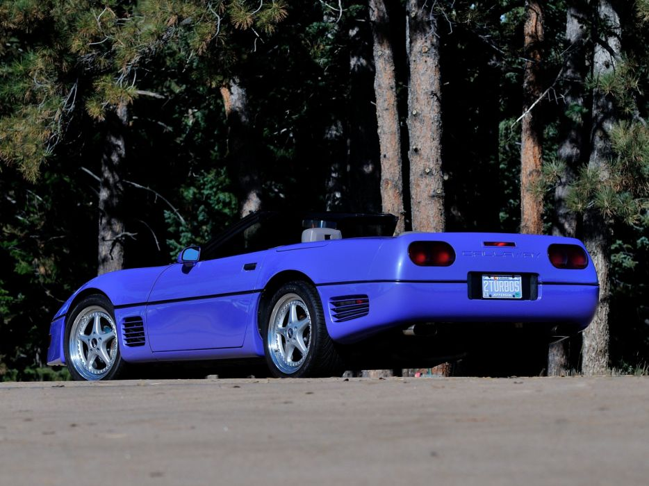 1991 Callaway C-4 Series 500 Twin Turbo Chevrolet Corvette Speedster B2K supercar muscle tuning   h wallpaper