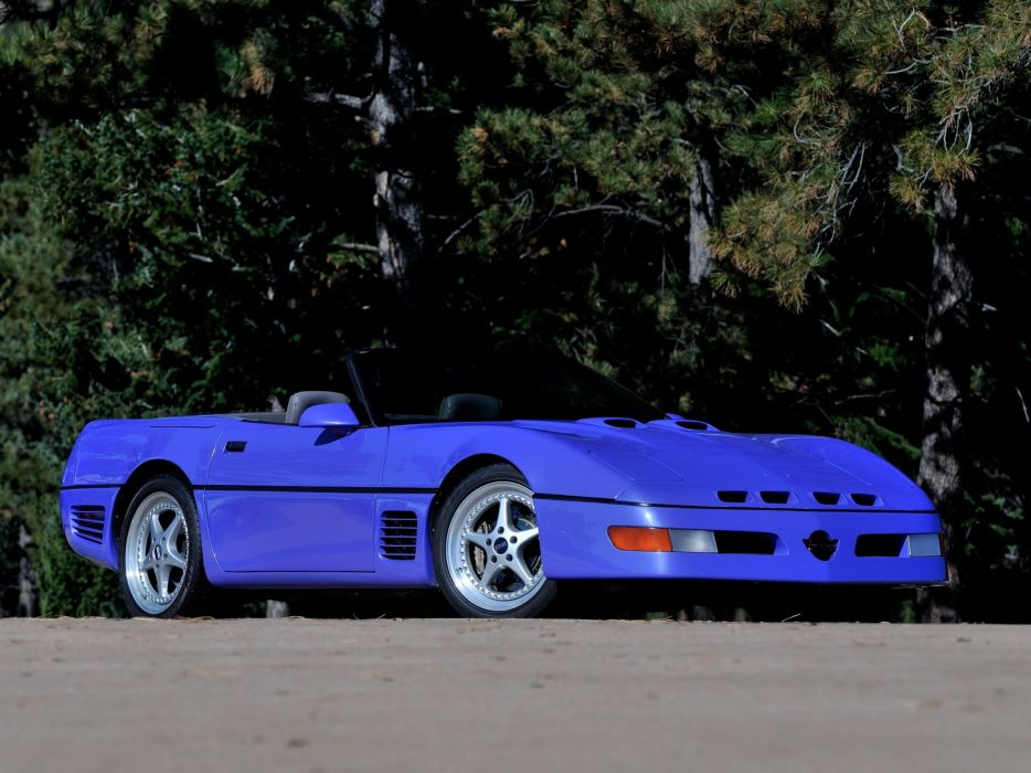 1991 Callaway C-4 Series 500 Twin Turbo Chevrolet Corvette Speedster B2K supercar muscle tuning    d wallpaper