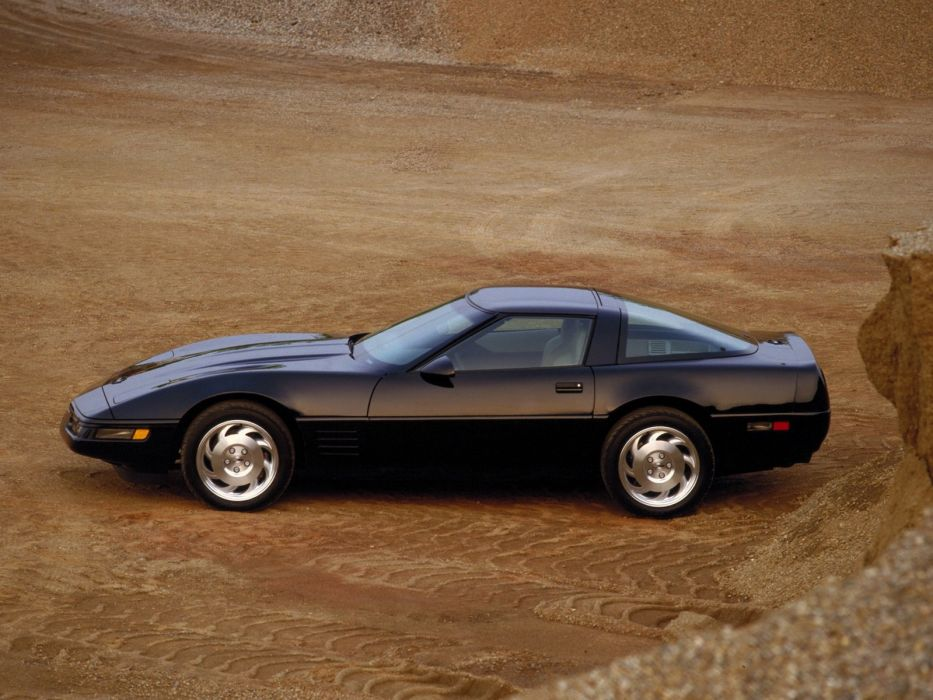 1991-96 Chevrolet Corvette Coupe C-4 muscle supercar   hj wallpaper
