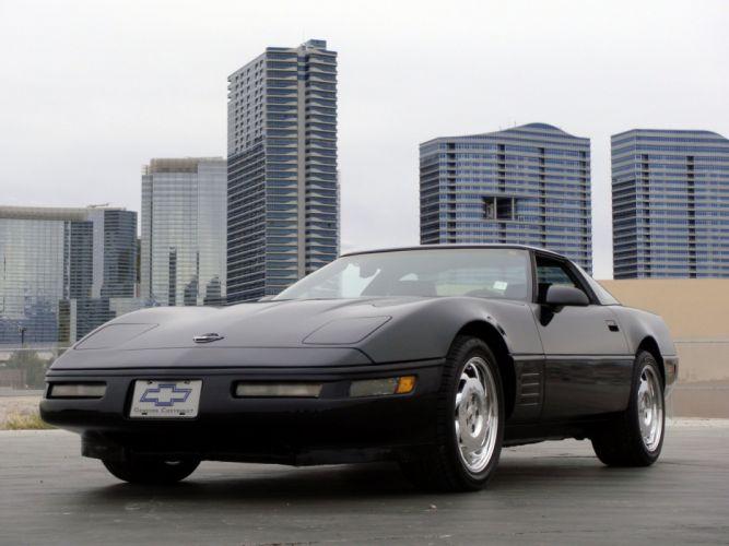1991-96 Chevrolet Corvette Coupe C-4 muscle supercar jo wallpaper