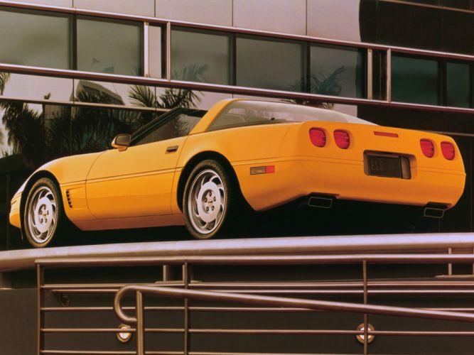 1991-96 Chevrolet Corvette Coupe C-4 muscle supercar h wallpaper