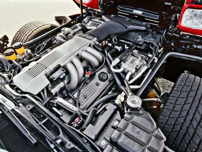 1991-96 Chevrolet Corvette Coupe C-4 muscle supercar engine g wallpaper