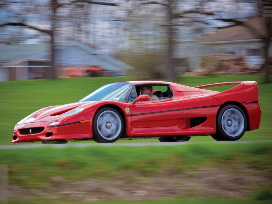 1995 Ferrari F50 Preserial supercar       g wallpaper