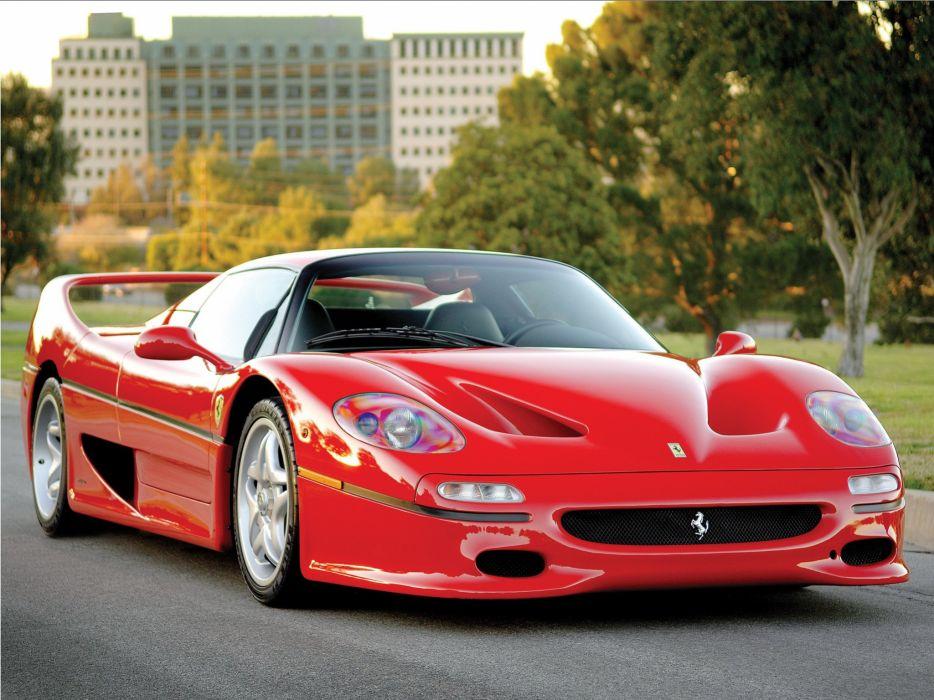 1995 Ferrari F50 Preserial supercar    r wallpaper