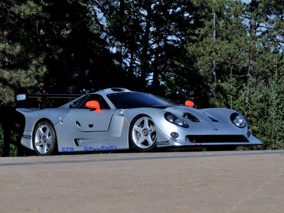 1997 Callaway C7R GT1 Chevrolet Corvette supercar race racing    f wallpaper