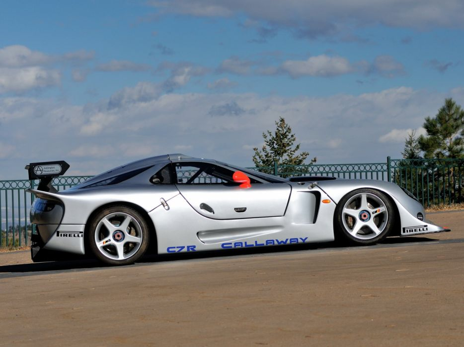 1997 Callaway C7R GT1 Chevrolet Corvette supercar race racing  d wallpaper