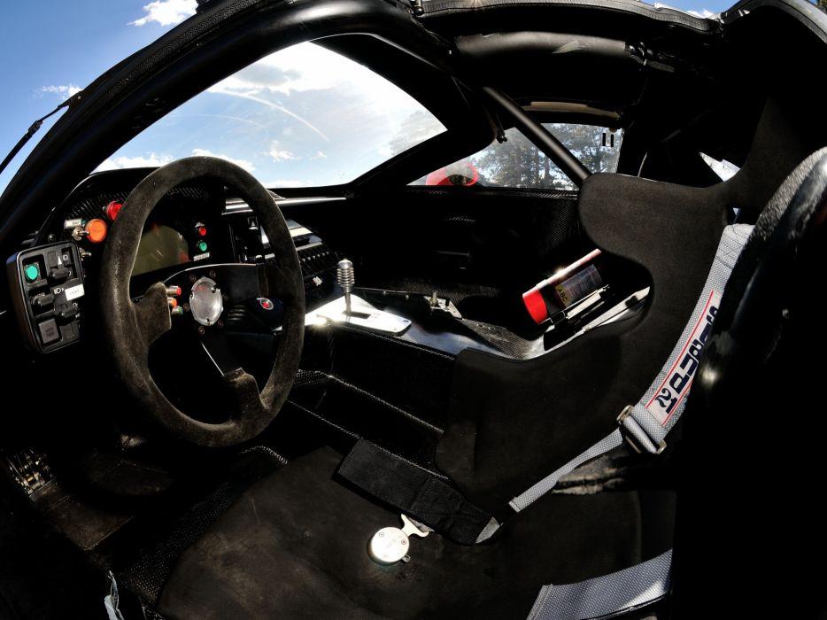 1997 Callaway C7R GT1 Chevrolet Corvette supercar race racing interior  d wallpaper
