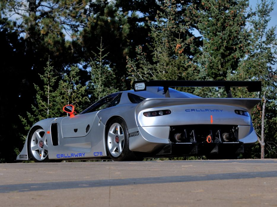 1997 Callaway C7R GT1 Chevrolet Corvette supercar race racing  fs wallpaper