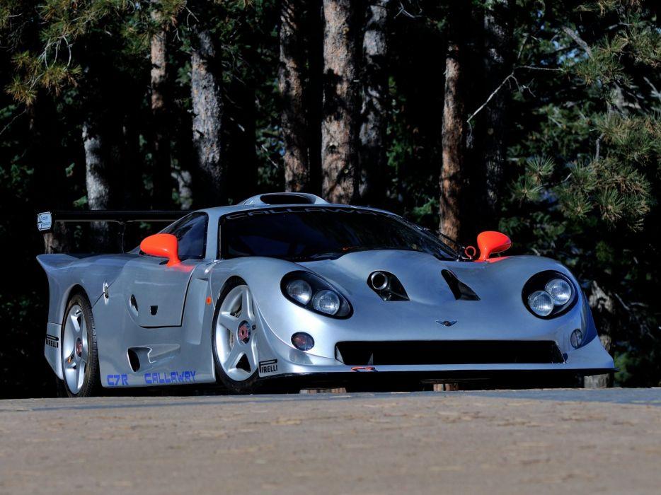 1997 Callaway C7R GT1 Chevrolet Corvette supercar race racing   g wallpaper