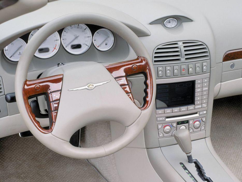 2000 Chrysler 300 Hemi C Concept interior    g wallpaper