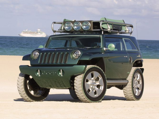 2001 Jeep Willys 2 Concept 4x4 g wallpaper