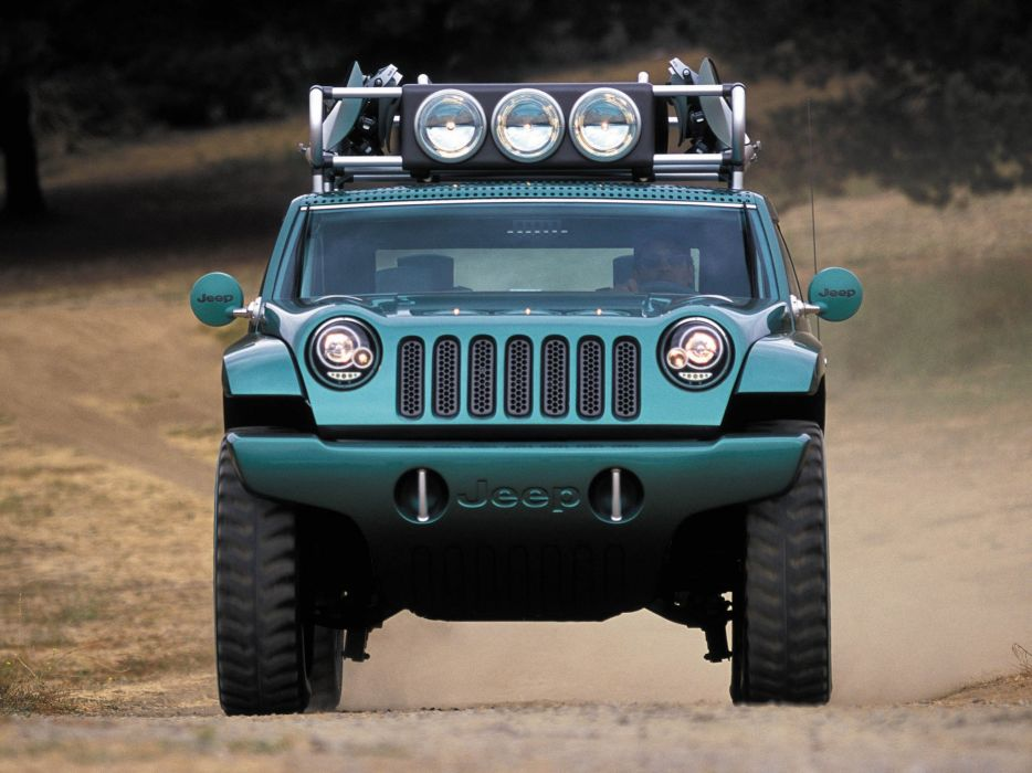 2001 Jeep Willys 2 Concept 4x4  b wallpaper