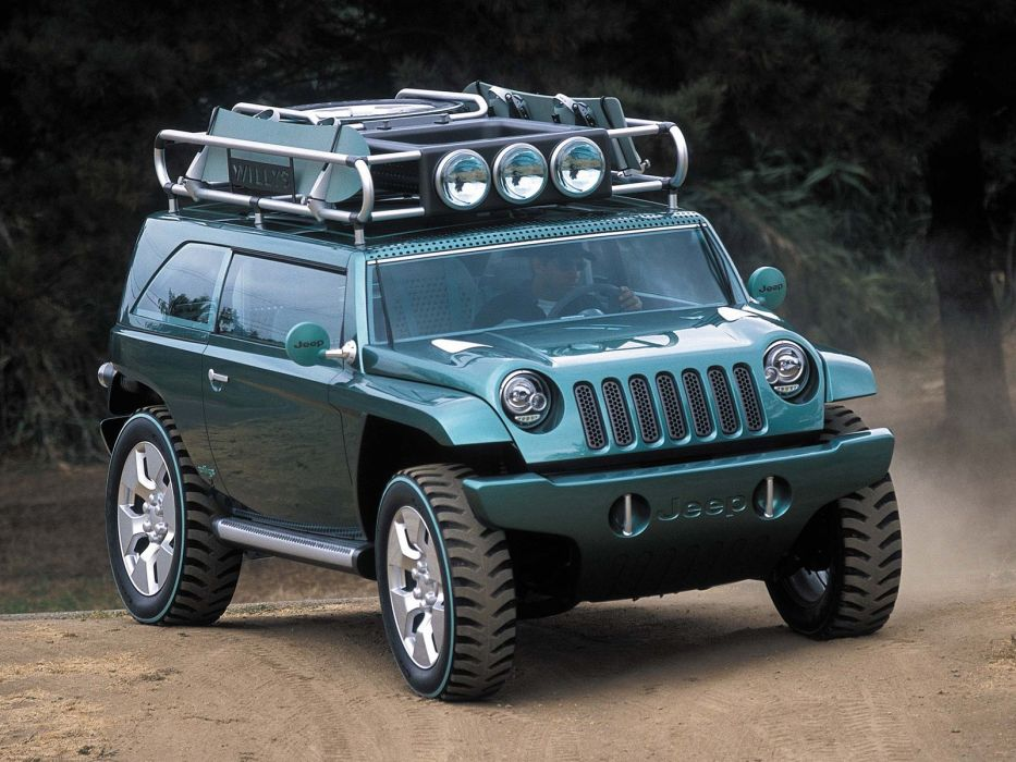 2001 Jeep Willys 2 Concept 4x4  c wallpaper