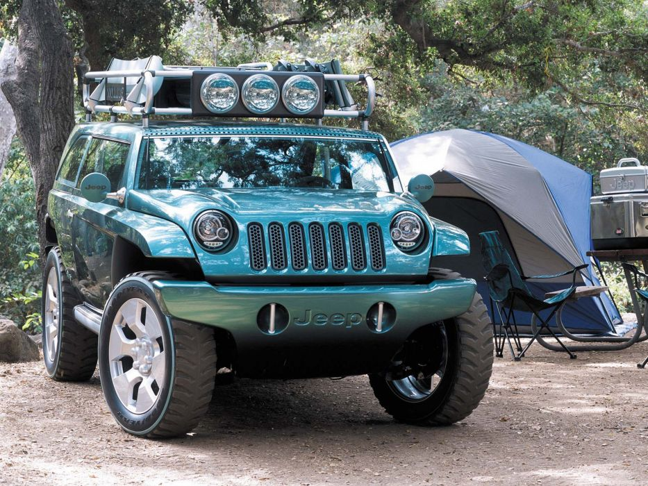 2001 Jeep Willys 2 Concept 4x4  fs wallpaper
