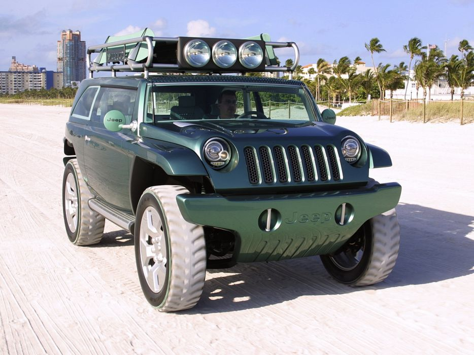 2001 Jeep Willys 2 Concept 4x4  fw wallpaper