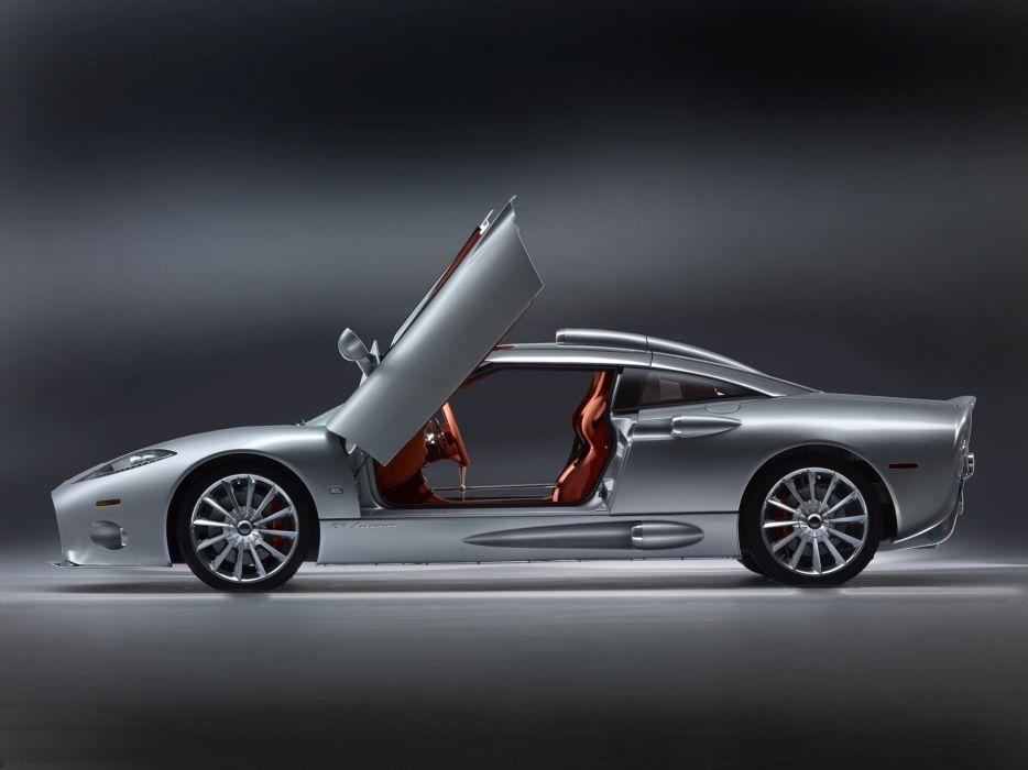 2009 Spyker C-8 Aileron supercar interior      g wallpaper