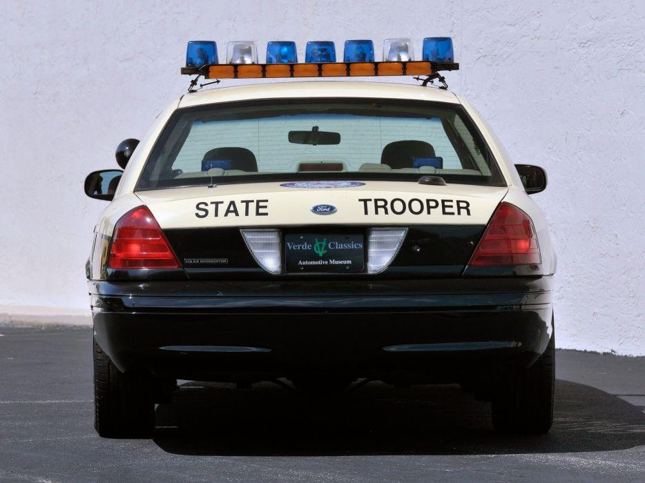 2011 Ford Crown Victoria P71 Police Interceptor muscle emergency  y wallpaper