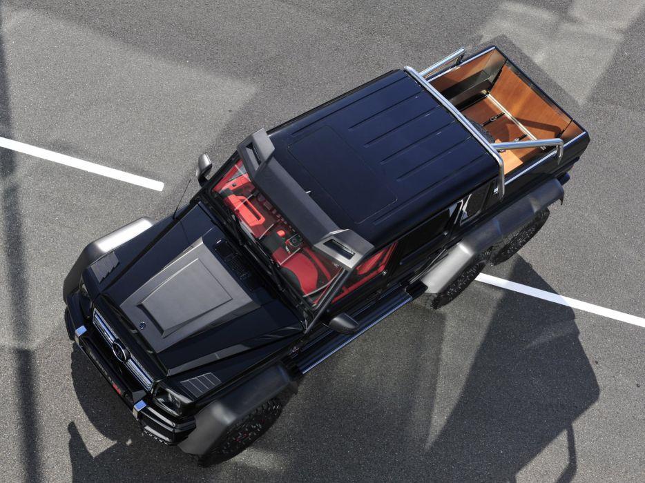 2013 Brabus Mercedes Benz G63 AMG 6x6 W463 suv custom offroad tuning pickup    f wallpaper