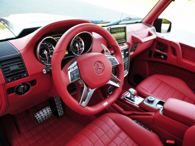 2013 Brabus Mercedes Benz G63 AMG 6x6 W463 suv custom offroad tuning interior j wallpaper