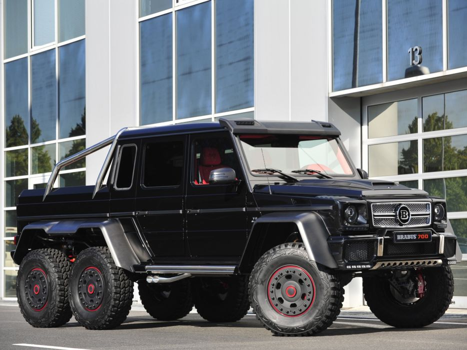 2013 Brabus Mercedes Benz G63 AMG 6x6 W463 suv custom offroad tuning pickup  t wallpaper