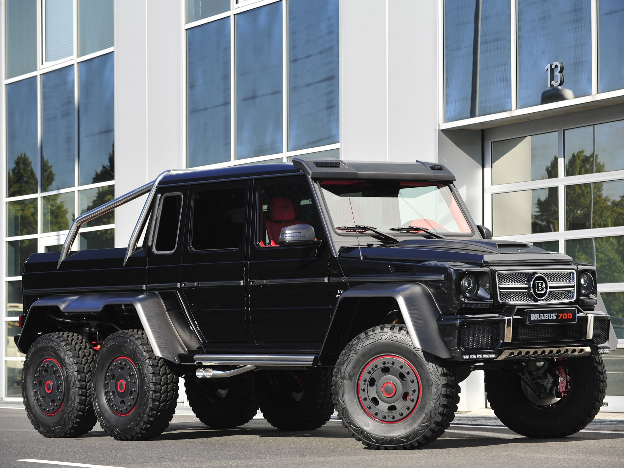 2013 brabus mercedes benz g63 amg 6x6 w463 suv custom offroad tuning pickup t wallpaper 2048x1536 287522 wallpaperup - Mercedes G Amg Custom