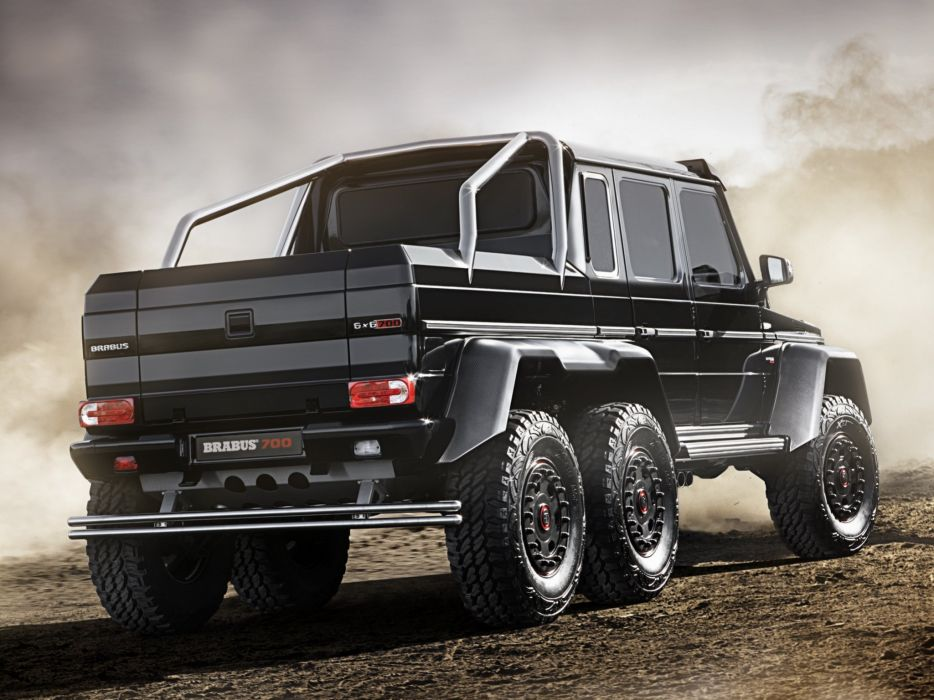 2013 Brabus Mercedes Benz G63 AMG 6x6 W463 suv custom offroad tuning pickup  g wallpaper