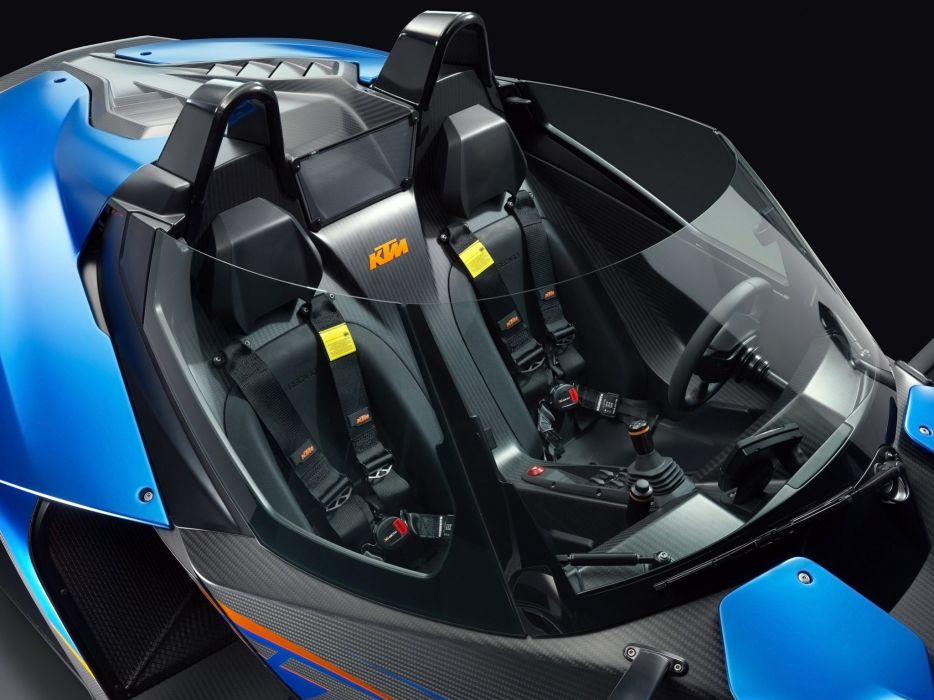 2013 KTM X-Bow G-T supercar interior     g wallpaper