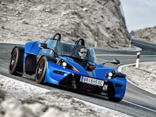 2013 KTM X-Bow G-T supercar hw wallpaper