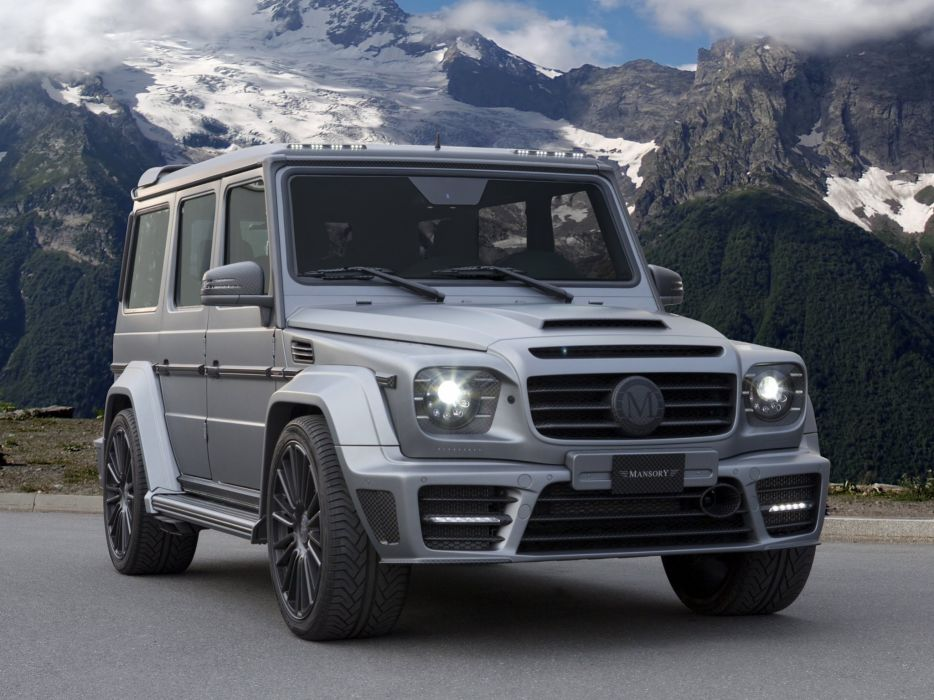 2013 Mansory Gronos (W463) mercedes benz suv tuning   h wallpaper