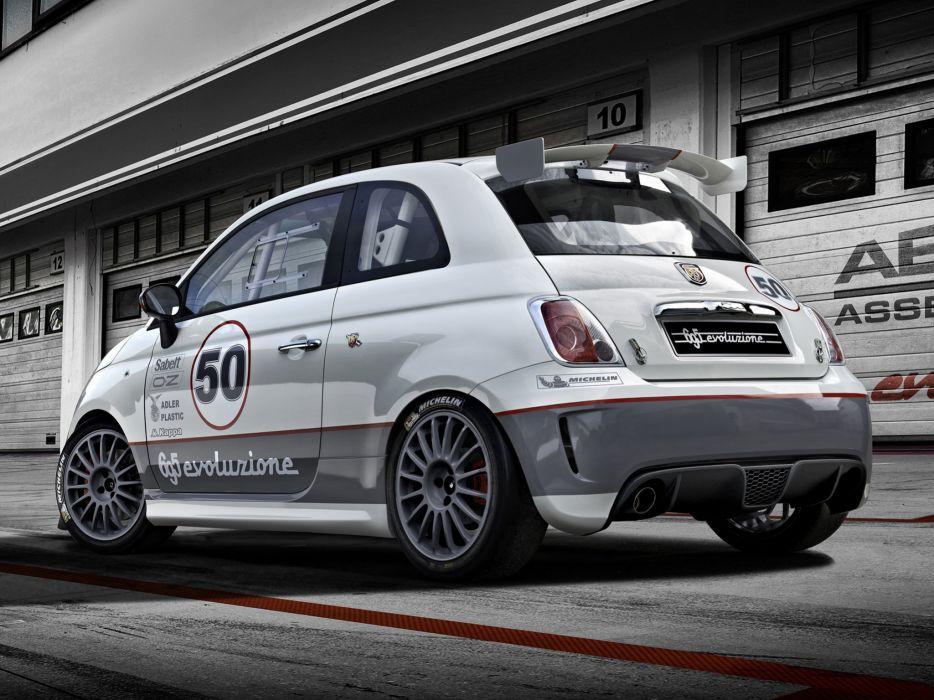 2014 Abarth 695 Assetto Corse Evoluzione race racing  g wallpaper