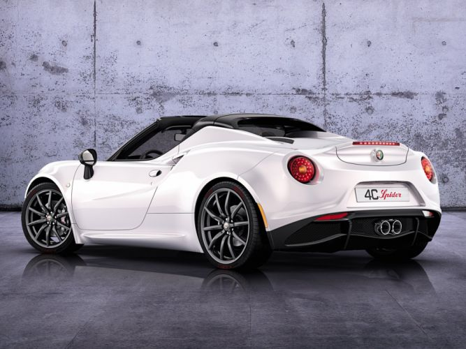 2014 Alfa Romeo 4-C Spider Concept (960) supercar f wallpaper