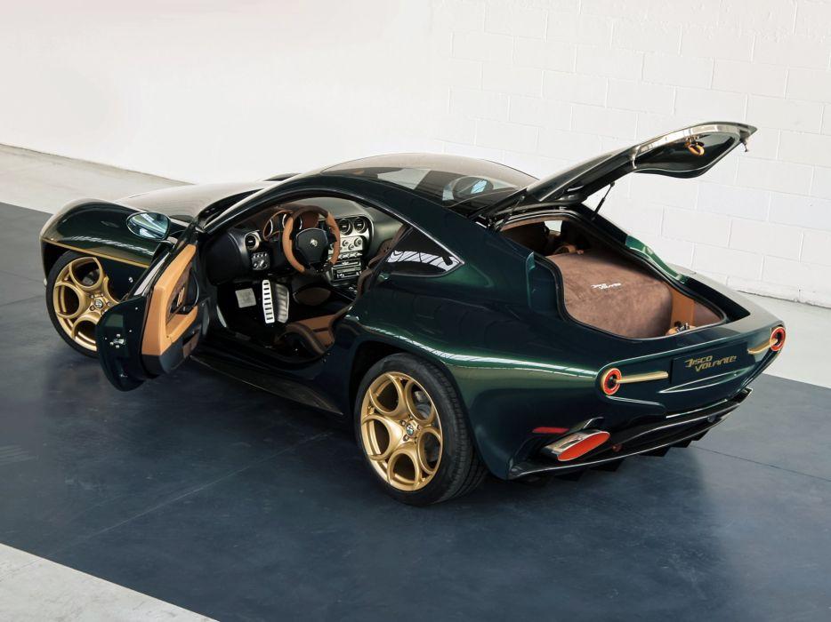 2014 Alfa Romeo Disco Volante supercar interior  h wallpaper